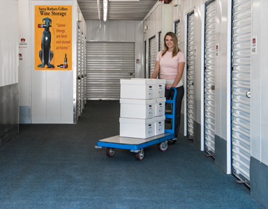 moving boxes Goleta and Santa Barbara Self Storage
