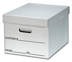 Record Storage Box