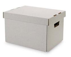 Self Folding Record Storage Box