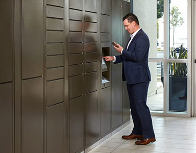 package delivery lockers Goleta and Santa Barbara